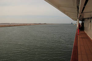 Port Said -> Suez-Kanal (Ägypten)
