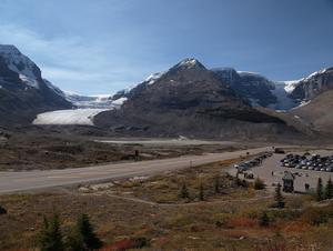 Columbia Icefield Centre -> Icefields Parkway (Kanada)