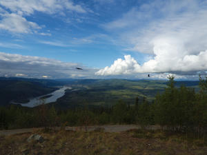 Midnight Dome Lookout -> Dawson City (Kanada)